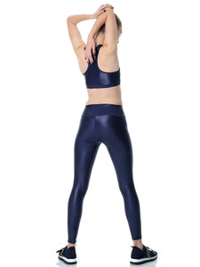 DAZZLE NIGHT BLUE SET LONG (TOP & LEGGINGS)