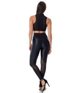 BAYA SUPERSTAR LEGGINS - BLACK