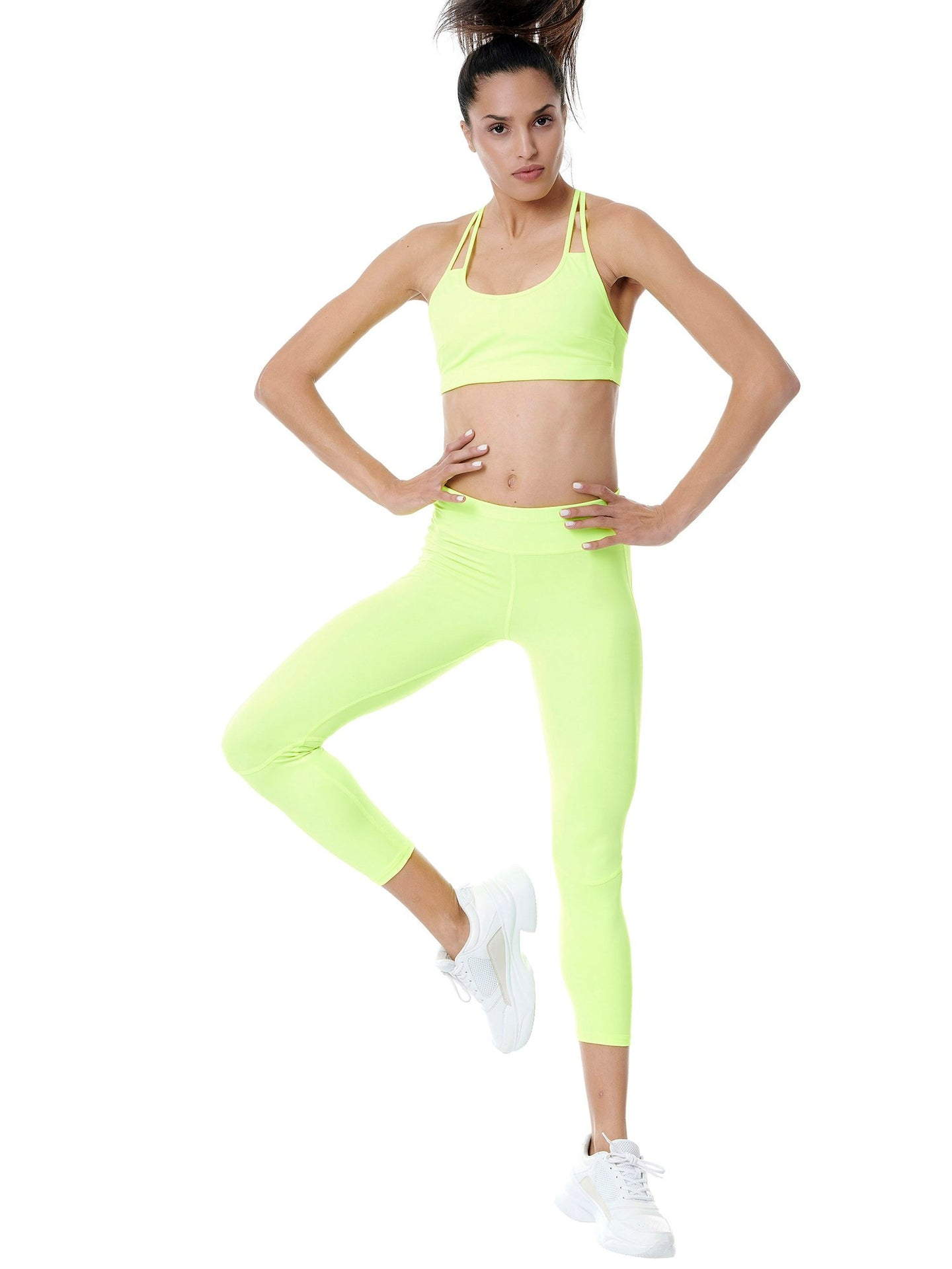BAYA NEON YELLOW SET