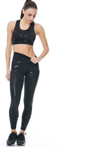 BAYA Y SET - BLACK (LEGGINS & TOP)