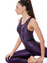 Load image into Gallery viewer, DAZZLE HIGH POWER JUMPSUIT - PURPLE