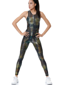 WILD SHINE POWER JUMPSUIT - BLACK