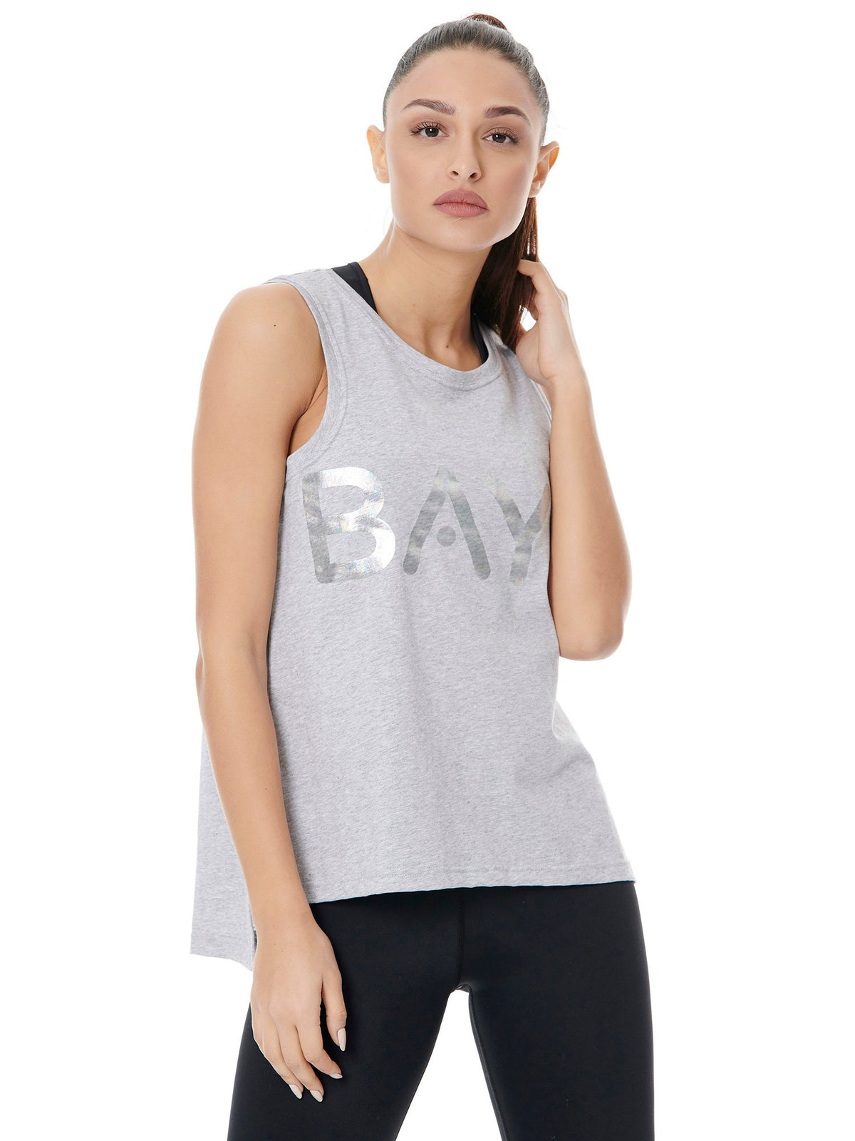 BAYA SIGN SPORT TANK - SPORTY GREY