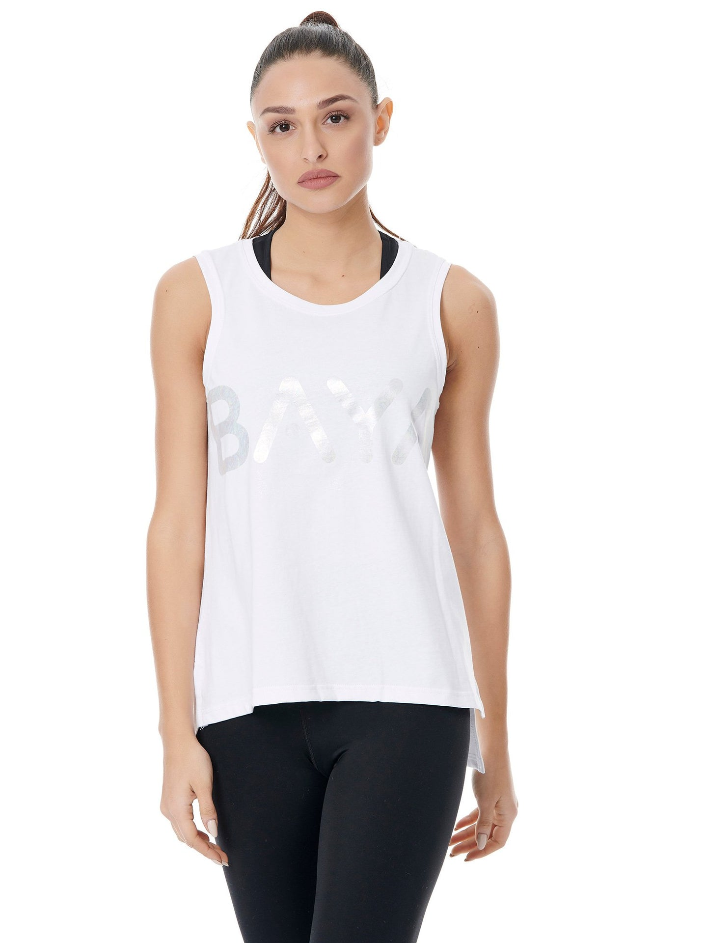 BAYA SIGN SPORT TANK - WHITE
