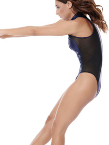 DAZZLE KNOCKOUT SWIMSUIT NIGHTBLUE