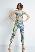 Load image into Gallery viewer, Lange Leggins mit camo Leopardenprint