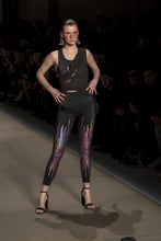 Load image into Gallery viewer, BAYA LINES SET - PINK (LEGGINGS & TOP)