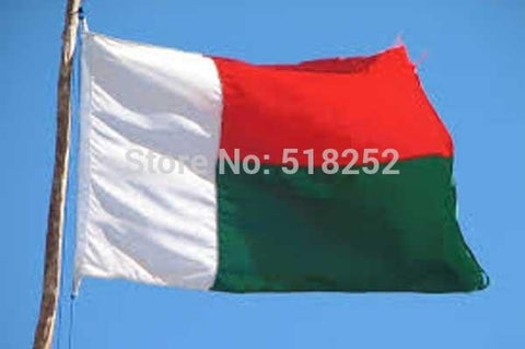 Madagascar Flag 150x90cm custom flag banner at all size national flags, free shipping