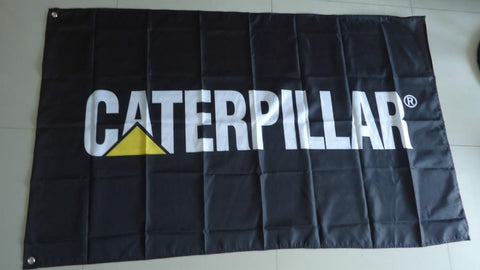caterpilla r car flag, caterpilla r  banner,90X150CM size,100% polyester,can custom desgin