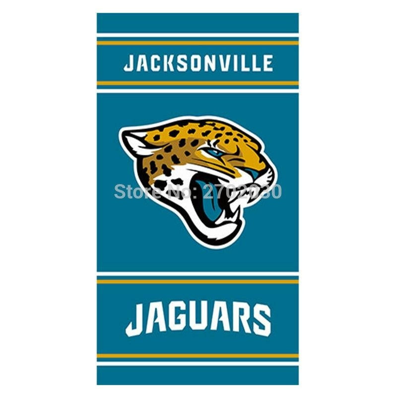 Helmet Design Jacksonville Jaguars Flag Football Team World Series Super Bowl Champions Fans 3ft X 5ft Banners Hanging