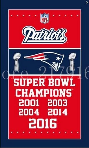 New England Patriots Home Decoration Football US Sport Team Flag  Banner 3x5 FT World Series Super Bowl Champions Hanging Banner