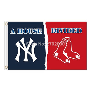 New York Yankees Flag Vs Boston Red Sox Football Club World Series Champions Super Team Fans Team Flags 3x5ft Banner 90x150cm