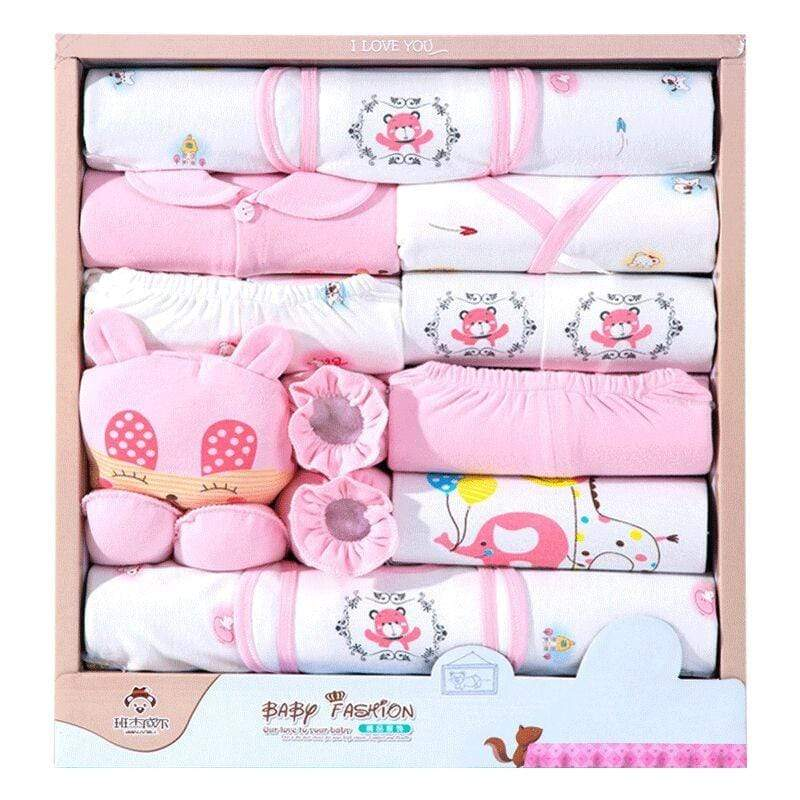 18 piece/lot Newborn Baby Girl Clothes Sets 100% Cotton Infant Baby Girl Boy, Baby Clothes- Babies Deals