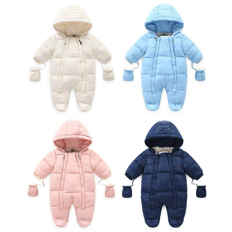 Baby Jumpsuit Clothing Boy Girls Clothes Cotton Newborn Toddler Rompers Cute Infant Newborn Winter Clothing, - Babies Deals