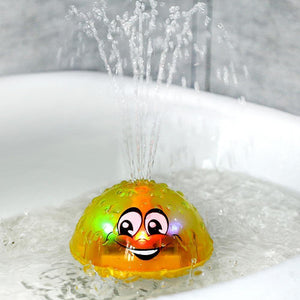 Cute Water Spraying Ball Baby Floating Bath Toy, toys- Babies Deals