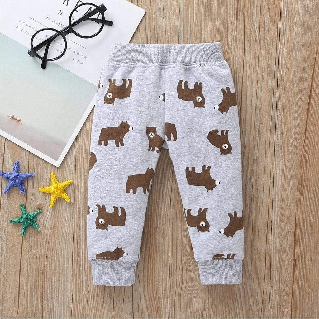 Sale - 15%  New Born Baby Cartoon Bear Clothes Set Long Sleeve Sweater+stripe Romper+Pants, Baby Clothes- Babies Deals