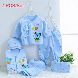 Sale - 15%  Newborn Baby Clothing Sets Baby Girls Boys Cotton Cartoon Underwear (5pcs/set)(7pcs/set), Baby Clothes- Babies Deals