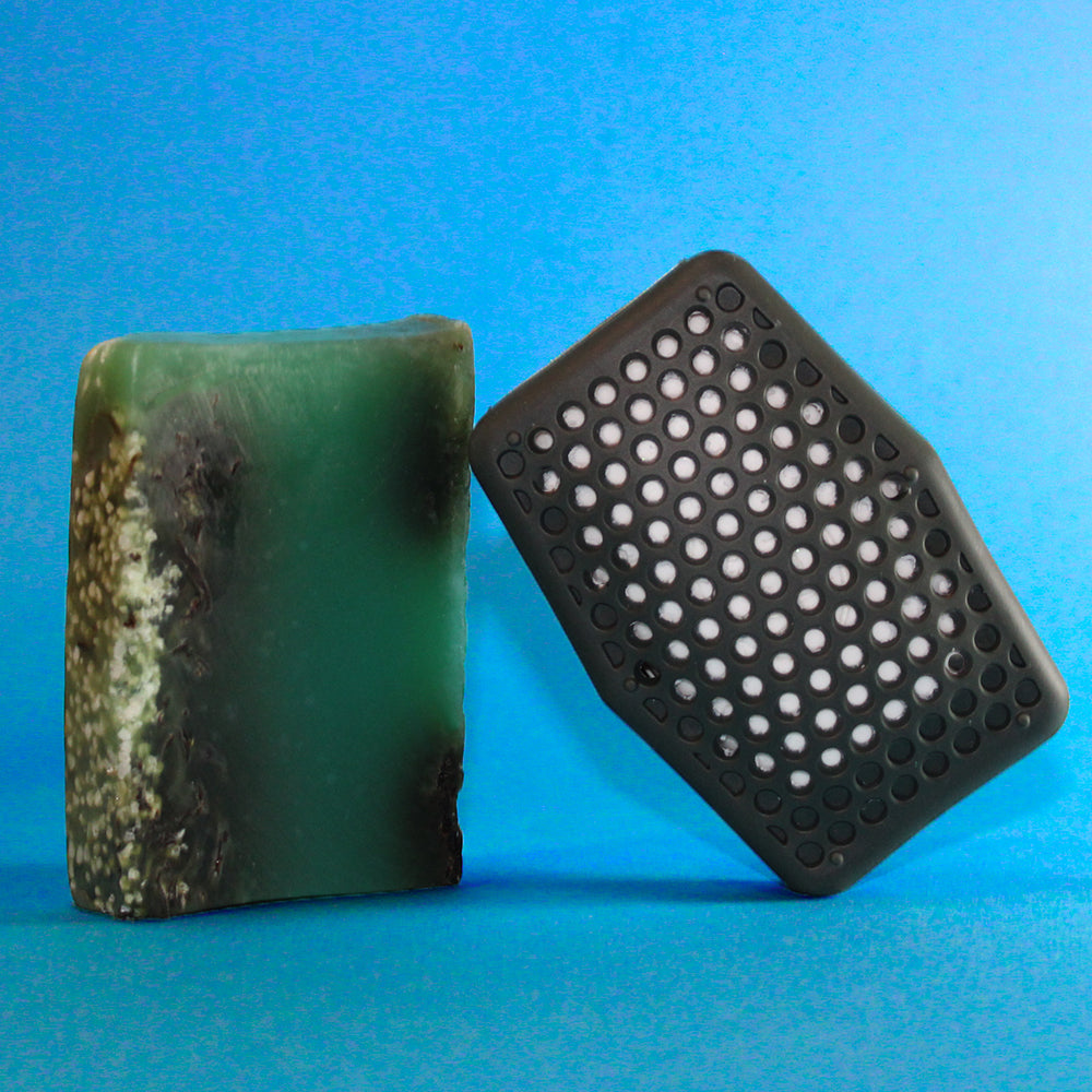 Soap Saving Scrubber - Black - Sud Stud