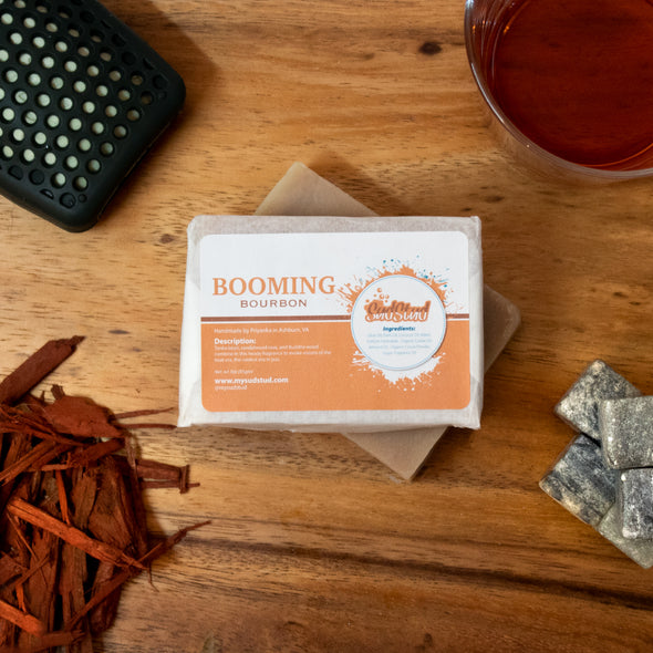 Booming Bourbon Soap Bar - Sud Stud