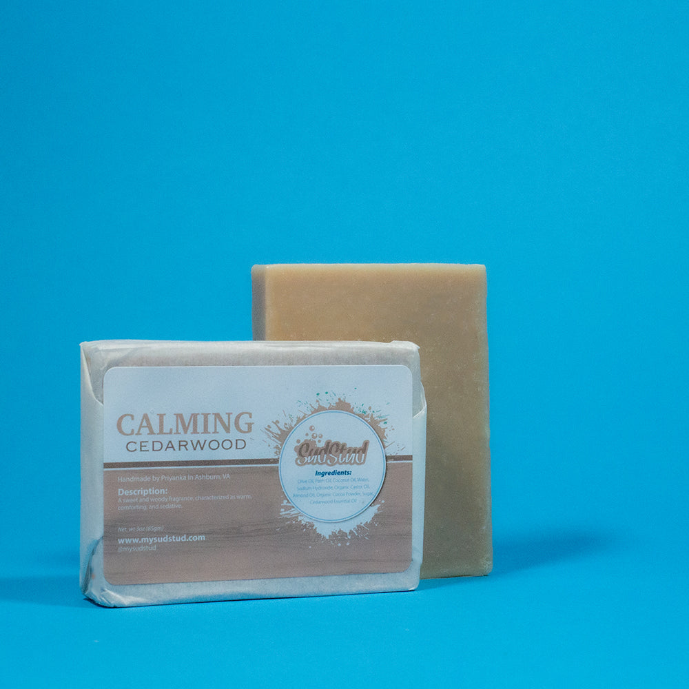Calming Cedarwood Soap Bar - Sud Stud