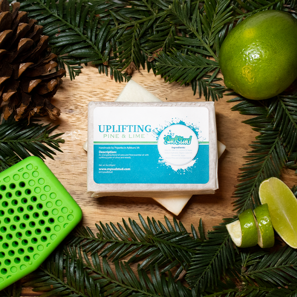 Uplifting Pine & Lime Soap Bar