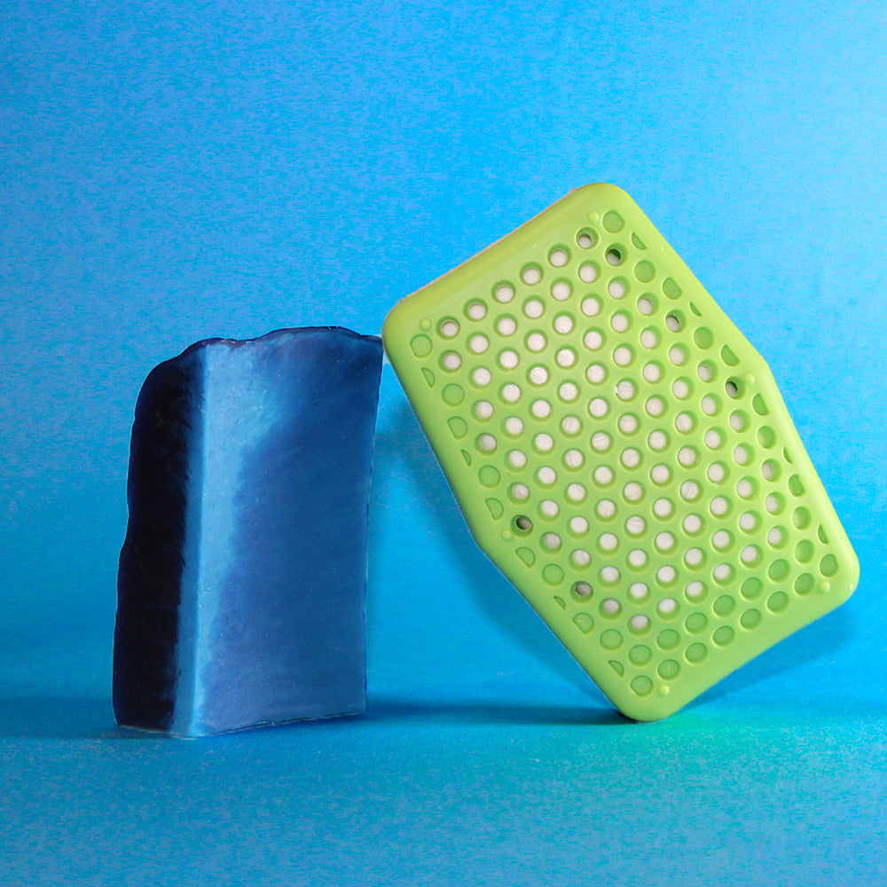 Soap Saving Scrubber - Green - Sud Stud