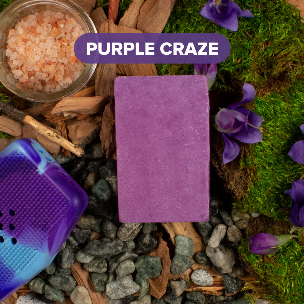 Purple Craze Soap Bar - Sud Stud