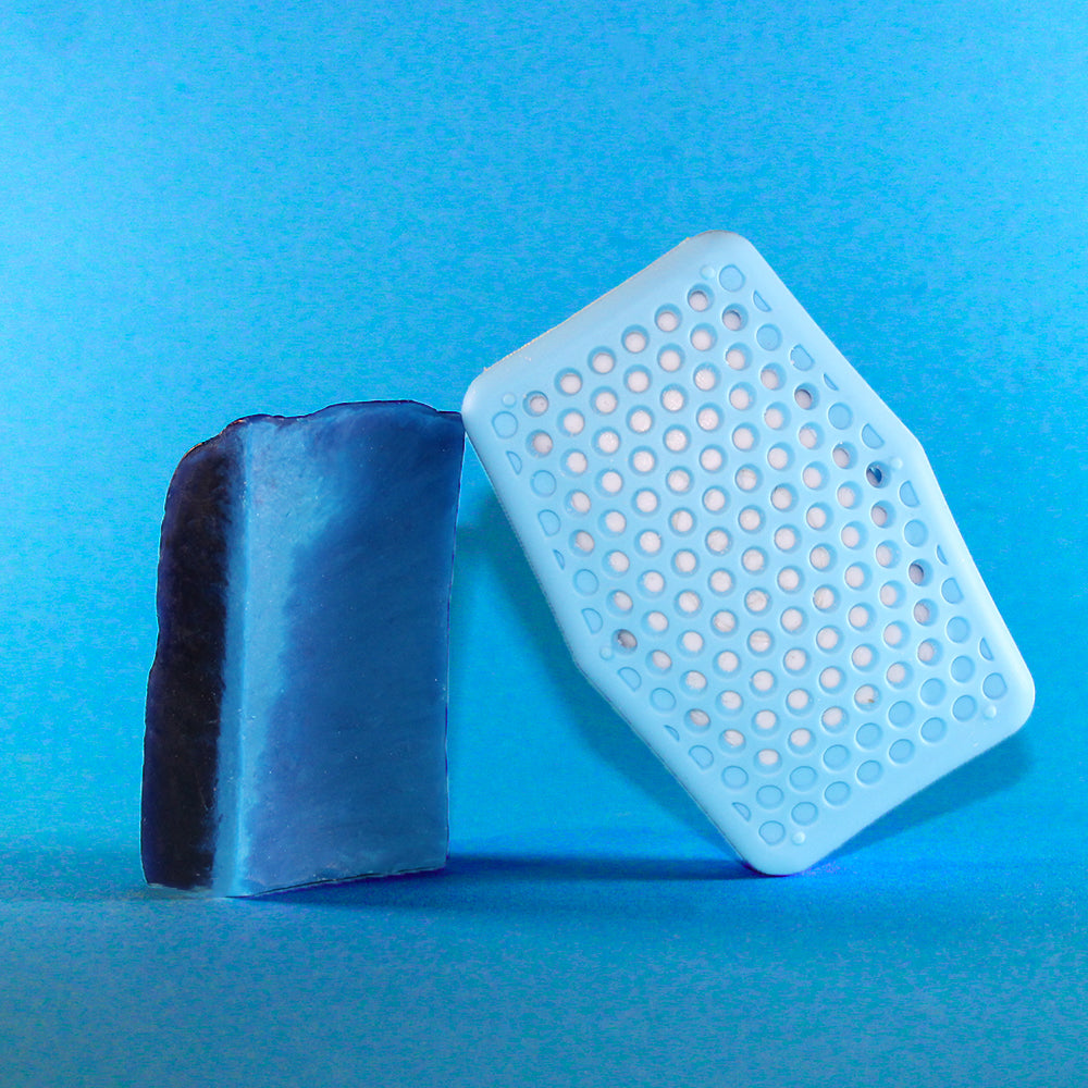 Soap Saving Scrubber - Sky Blue - Sud Stud