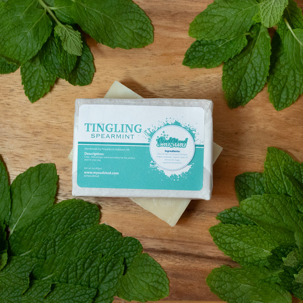 Tingling Spearmint Soap Bar