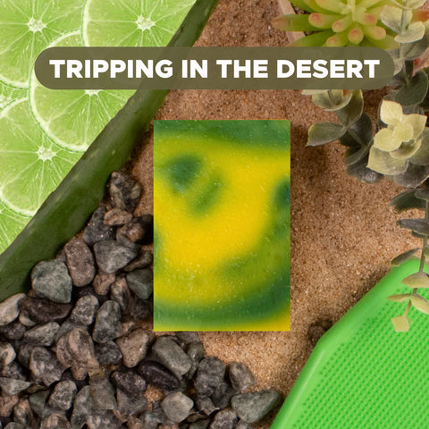 Tripping in the Desert Soap Bar