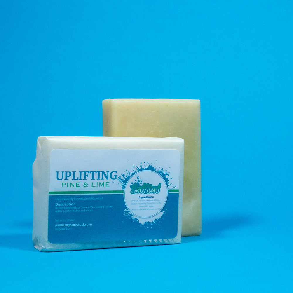 Uplifting Pine & Lime Soap Bar - Sud Stud