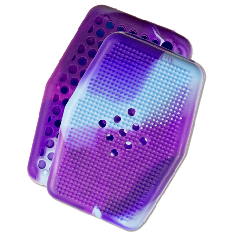 Sud Stud V2 | Soap Saving Silicone Scrubber | Cosmic Purple