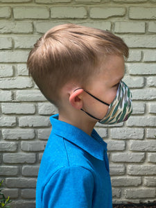 Child Sized Cone Mask (4635136065622)