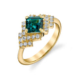 SASHA - One-of-a-Kind Indicolite Tourmaline & Diamond Ring