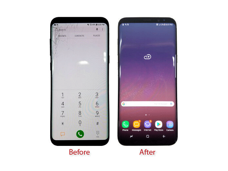 Samsung Galaxy S8 Glass Only Replacement