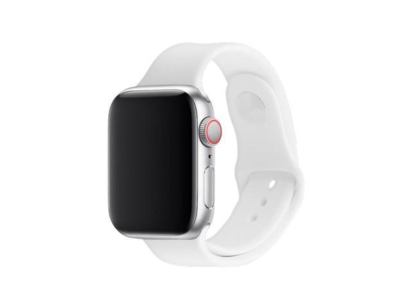 3SIXT Apple Watch Band - Silicone - 38/40mm - White