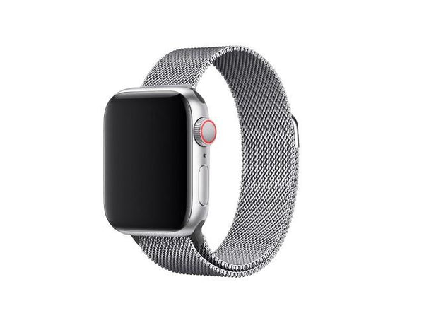 3SIXT Apple Watch Band - Mesh - 42/44mm - Silver