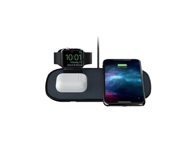 Mophie-3-in-1Wireless Charging pad-Black-AU