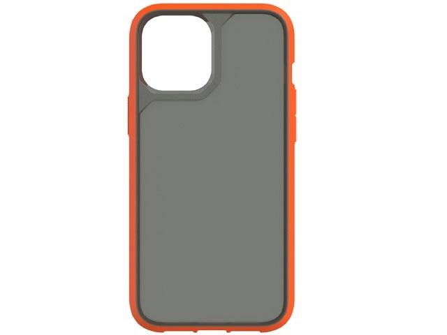 Survivor Strong - iPhone 12/12 Pro - Orange/Gray