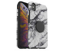 Otterbox OTTER + POP Symmetry iPhone X/Xs - White Marble