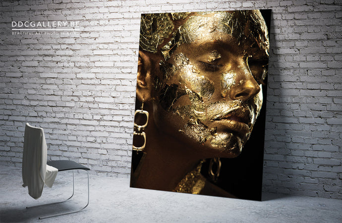 Photo Art - Gold Paint
