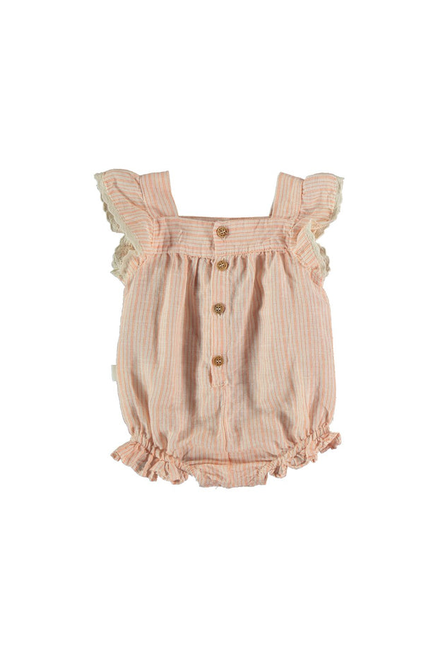 baby girl sleeveless one piece romper