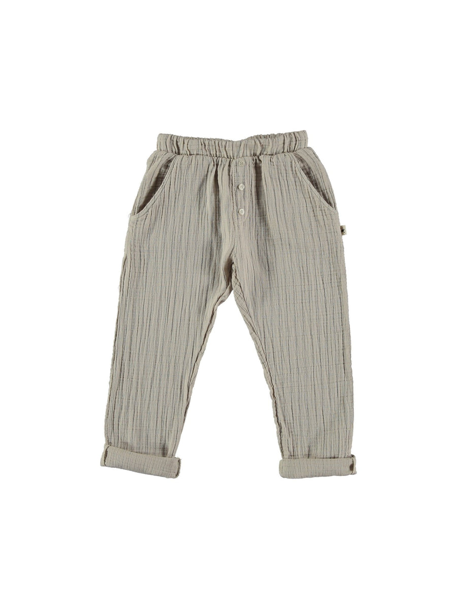 beige kids pants
