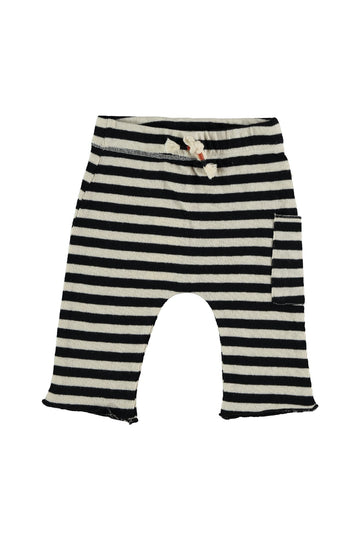 STRIPED KNIT BABY TROUSERS