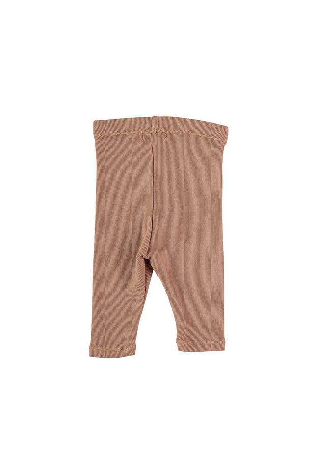 ORGANIC RIB BABY LEGGINGS