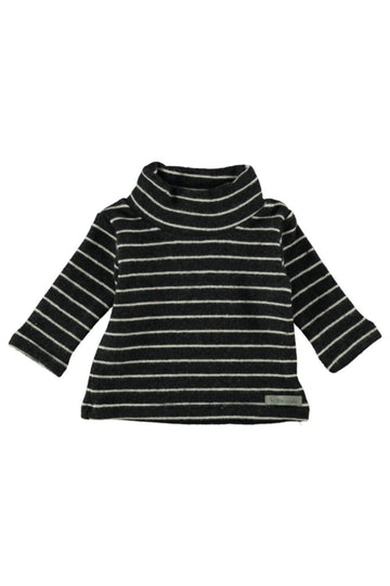 BABY ROLL NECK PREMIUM JERSEY STRIPES