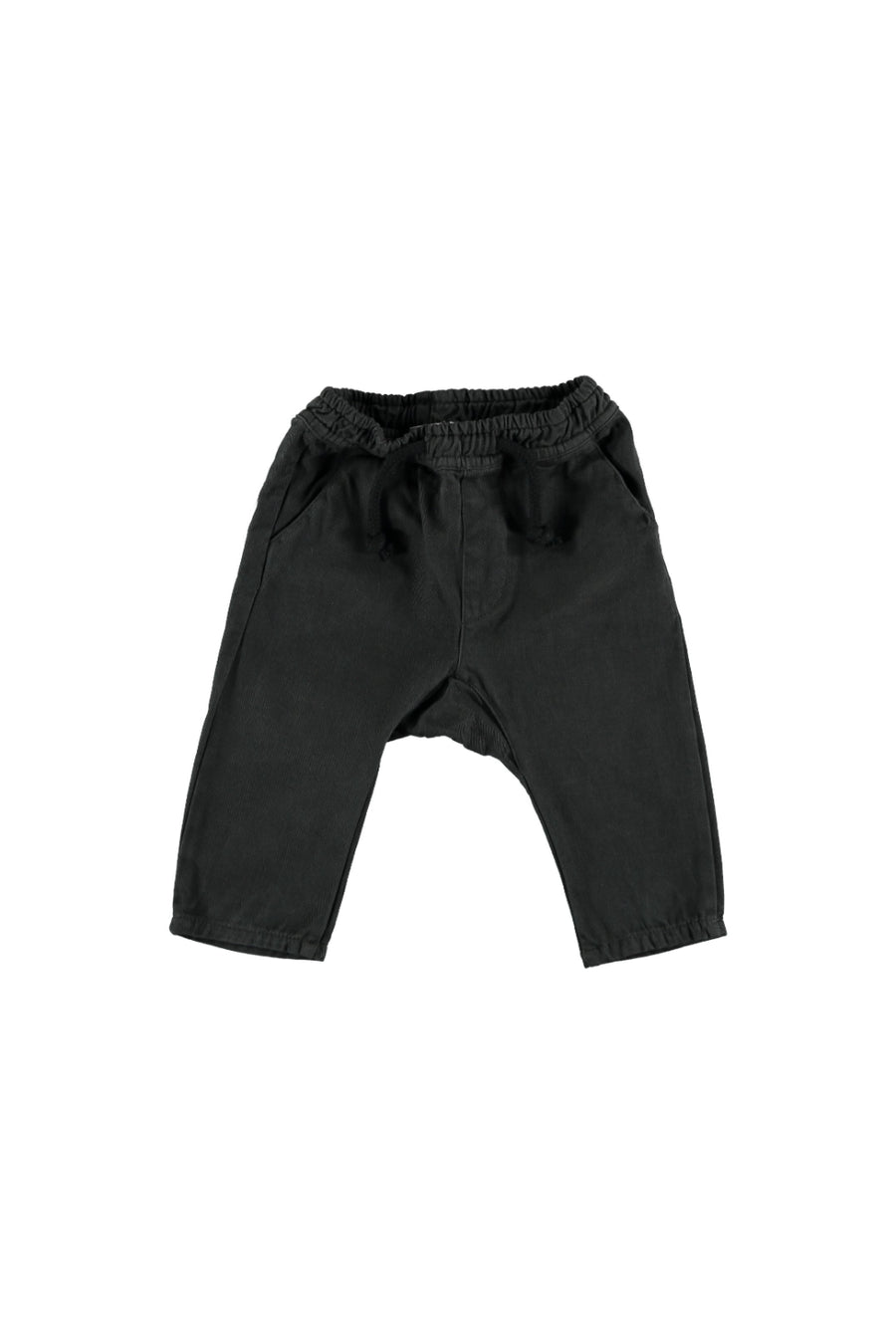 BABY TWILL TROUSERS DRAWSTRINGS