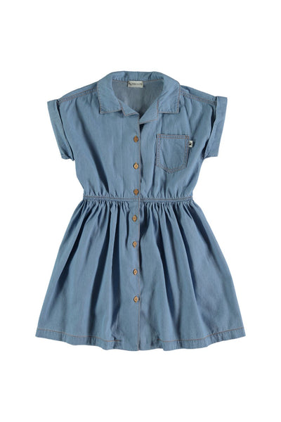 girls chambray dress