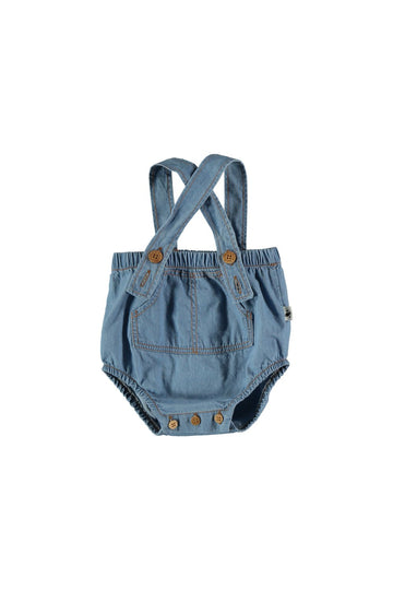 chambray baby bloomers