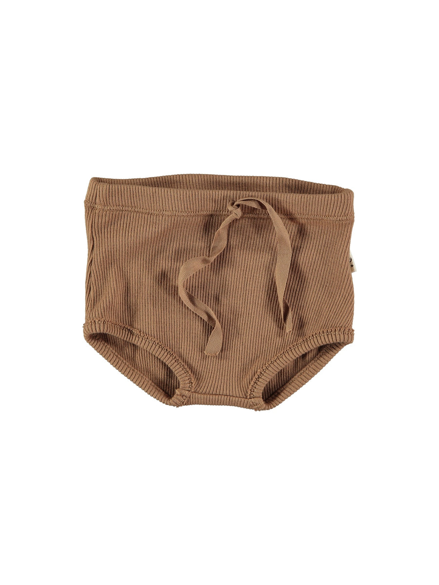 ORGANIC RIBBED BABY SHORTS